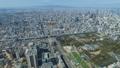 大阪风光,游戏中时光倒流,2019年,神户方向宽视图从天王寺,缩小 48947793