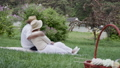 couple, picnic, old 48968438