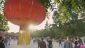 Lantern in Beijing by day 49001064