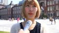 インタビュー 街頭インタビュー 女性の動画 49058537