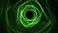 Green Trigons forming a time portal 49124202