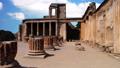 The city of Pompeii, destroyed in 79 BC. the eruption of Mount Vesuvius 49170522