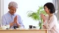 中間夫婦餐桌膳食生活方式圖像 49178621