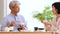 中間夫婦餐桌膳食生活方式圖像 49178623