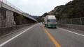 高速道路走行映像 高知道 上り線 対面通行 permingDR 映像素材 49198469