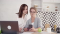 Senior grandmother is learning payment online for shopping through smartphone. 49214580