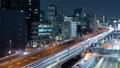 夜の首都高速道路・タイムラプス 49225476