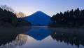 夜明けの富士山、静岡県富士宮市田貫湖にて 49229933