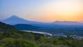 富士山と日の出の風景、静岡県富士市にて 49244190