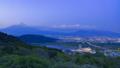 夕暮れの富士山、静岡県富士市にて 49278597