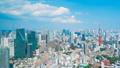 8K ·โตเกียว·ทิวทัศน์·เวลาล่วงเลย·สิงหาคม·เมฆคิวมูโลนิมบัสลอยขึ้นไปบนฟ้า 49288047