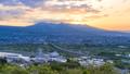 日の出の風景、静岡県富士市にて 49293486