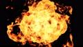 爆発する炎のアニメーション 49327538