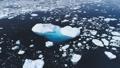 Majestic antarctica open water ocean aerial view 49381380