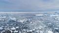 Antarctica ice polar ocean seascape aerial view 49381386