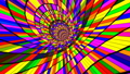 Crazy Psychedelic Ride Full with Colors 49385099