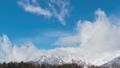 長野縣白馬村雪山和雲遊戲中時光倒流 49408377
