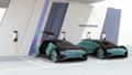 自動駕駛豪華轎車充電到充電站 49408622