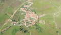 Aerial View Red Tiled Roofs Typical Village 49419709