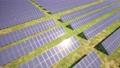 鮮豔細緻的全景景觀圖鳥瞰圖:太陽能發電廠(Full HD 超高畫質,高分辨率 CG 渲染∕著色動畫) 49434492