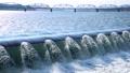 阿武隈大堰 阿武隈川 川 流れ 水流 49551013