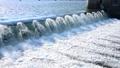 阿武隈大堰 阿武隈川 川 流れ 水流 49551021