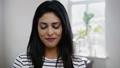 Young indian woman face close-up 49593298