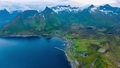 Mefjordvar, island Senja. Beautiful Nature Norway  49597933
