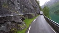 Driving a Car on a Road in Norway 49597941
