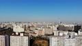 도쿄 공중 촬영 후지산과 철도와 도쿄 스카이 트리와 밀집한 거리 감기 49616990