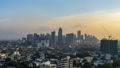 【Time-lapse】 High-rise buildings in Manila, Philippines, BGC Magic Hour 49638360