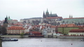 View on Vltava river and historical center of Prague, buildings and landmarks of old town, Prague 49644984