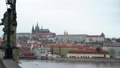 View on Vltava river and historical center of Prague, buildings and landmarks of old town, Prague 49644998