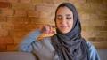 Closeup shoot of young cute muslim female teenager 49659670