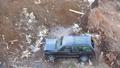 Broken machine left on a garbage dump. 49679118