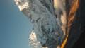 Vertical video. Ama Dablam 6856m peak near the village of Dingboche 49682714
