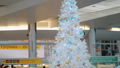 Christmas decoration with reindeer at Sheremetyevo Airport, Moscow 49682794