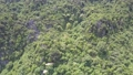 mountain with houses hidden in deep jungle aerial view 49728536