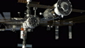 Spacecraft Docking To International Space Station  49754408