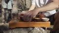 installation of tea set, type 49769731