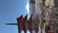 桜咲く新倉山浅間公園・忠霊塔と富士山 49822068