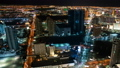 Las Vegas Strip Skyline Aerial Time Lapse 49970887