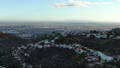 Los Angeles City View from Hollywood Hills Sunset 49971208