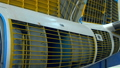 Inner covering of aircraft parts manufactured at plant, inside view 49977896