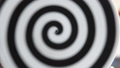 twisted black and white spiral for trance or hypnosis 49981687