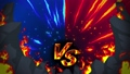 Battle game VS Flame ray animation loop 50078400