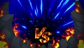 Battle game VS Flame ray animation loop 50078402