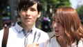 インタビュー 街頭インタビュー 報道の動画 50095498