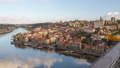 Porto Portugal city skyline time lapse Ribeira 50370844
