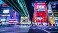 Time-lapse in Akihabara at night 50372052